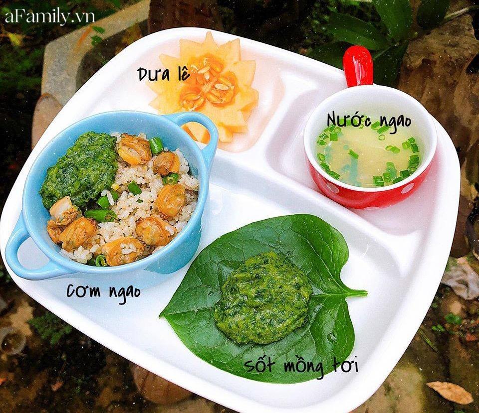 """Mẹ Quảng Nam khoe thực đơn ăn dặm cho con nhìn như nhà hàng 5 sao, bé 11 tháng đã ăn cả thế giới"""" nhờ bí quyết đặc biệt-9"""