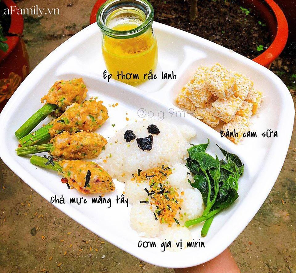 """Mẹ Quảng Nam khoe thực đơn ăn dặm cho con nhìn như nhà hàng 5 sao, bé 11 tháng đã ăn cả thế giới"""" nhờ bí quyết đặc biệt-11"""