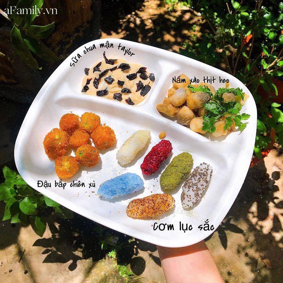 """Mẹ Quảng Nam khoe thực đơn ăn dặm cho con nhìn như nhà hàng 5 sao, bé 11 tháng đã ăn cả thế giới"""" nhờ bí quyết đặc biệt-14"""
