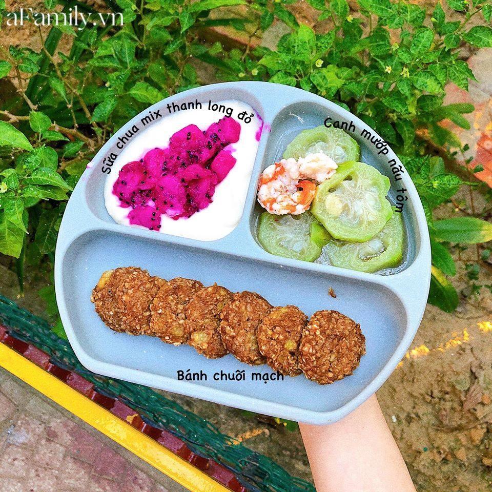 """Mẹ Quảng Nam khoe thực đơn ăn dặm cho con nhìn như nhà hàng 5 sao, bé 11 tháng đã ăn cả thế giới"""" nhờ bí quyết đặc biệt-15"""