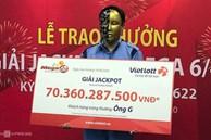 9x ở Hà Nội trúng Vietlott hơn 70 tỷ sau khi mua 1 vé số 10 nghìn đồng