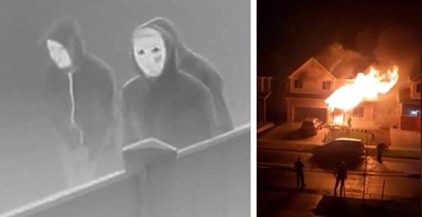 5 người trong gia đình gồm cả bé sơ sinh bị thiêu chết trong vụ hỏa hoạn kinh hoàng, hình ảnh về 3 nghi phạm gây ám ảnh-3