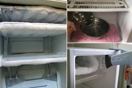 Tủ lạnh bị đóng đá ngăn mát, cho ngay bát nước này vào chỉ vài phút sau hiệu quả đáng kinh ngạc