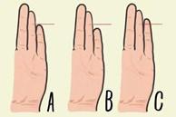 Kiểm tra ngón tay thấy ngay tính cách: Khoảng cách giữa ngón út và ngón áp út sẽ tiết lộ tính cách thật của bạn, ích kỷ hay bí ẩn?