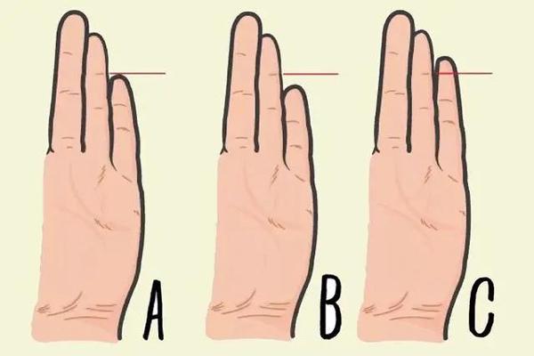 Kiểm tra ngón tay thấy ngay tính cách: Khoảng cách giữa ngón út và ngón áp út sẽ tiết lộ tính cách thật của bạn, ích kỷ hay bí ẩn?-1
