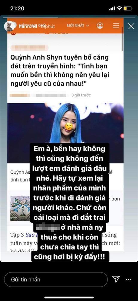 Ồn ào giữa đêm: Nghi vấn Quỳnh Anh Shyn bị tình cũ thiếu gia Hà Thành công khai mỉa mai Hãy tự xem lại nhân phẩm của mình?-1