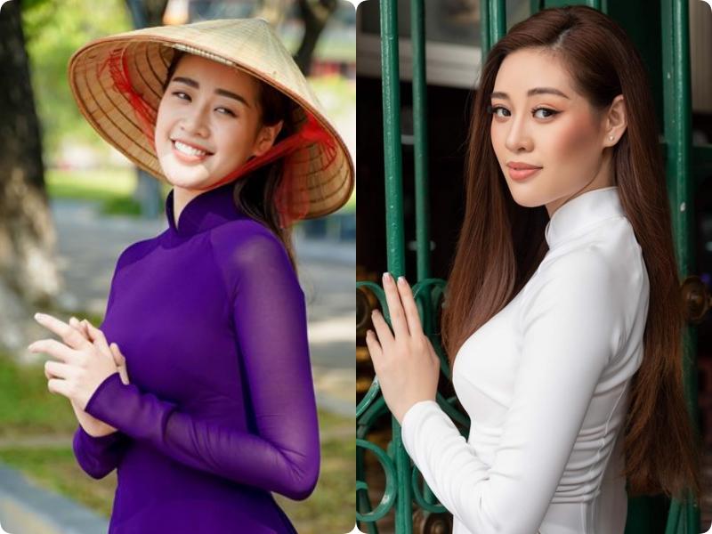 HH Khánh Vân xinh đẹp duyên dáng là thế, mà chỉ vì hàng lông mày ngang phè khiến gương mặt nhìn cứng đơ-4