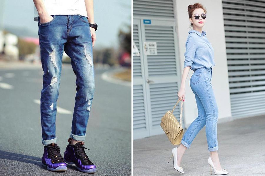 Thấy cô bạn bày cách bỏ quần jean vào tủ lạnh, chuyện tưởng như đùa nhưng lại có hiệu quả giữ dáng, bền màu và diệt sạch vi khuẩn-7