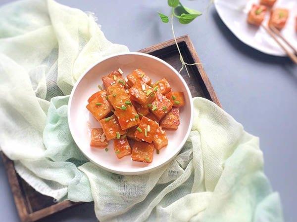 Đậu phụ sốt cà chua vừa ngon lại rẻ, trôi cơm hơn cả sơn hào hải vị-1