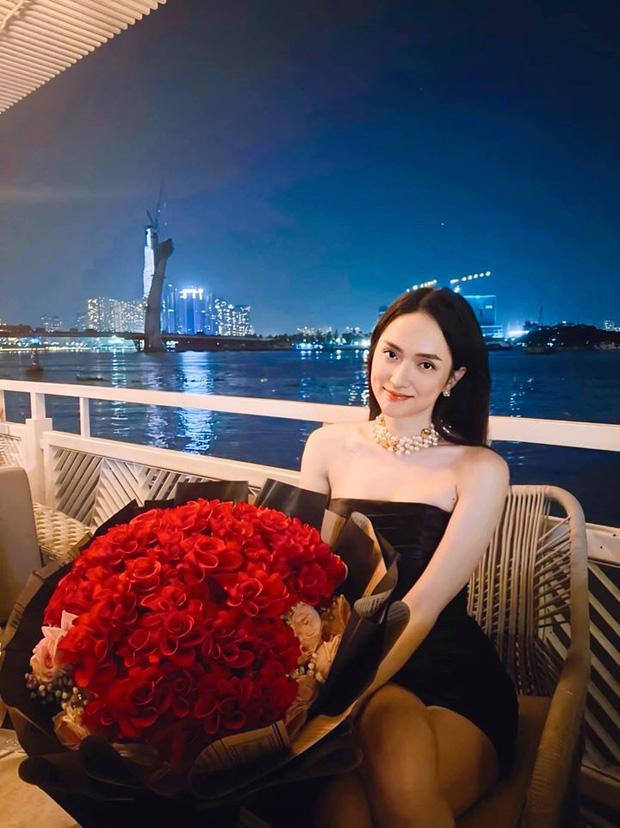Đăng ảnh ăn tối lãng mạn, Lan Ngọc lại ghen tị ra mặt vì điều ngọt ngào Matt Liu dành cho Hương Giang-4