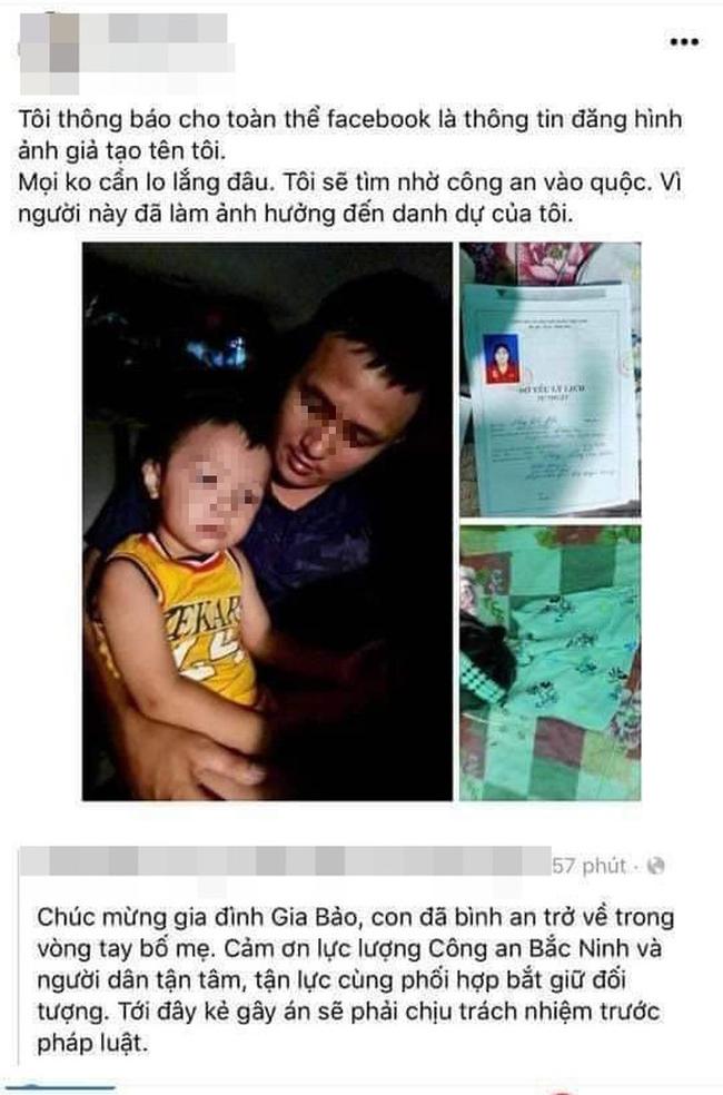 Tại sao xuất hiện bản sơ yếu lý lịch khiến cô gái Tuyên Quang bị hiểu lầm liên quan vụ bắt cóc bé trai ở Bắc Ninh?-1