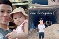 Quế Ngọc Hải đưa con gái đi 'khảo sát công trình', hé lộ hình ảnh đầu tiên của ngôi nhà mới đang xây