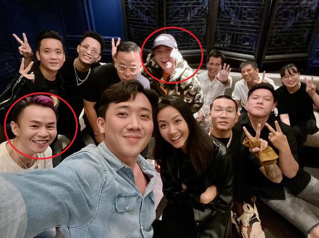 Buổi họp mặt cực hot của dàn sao Rap Việt: Karik lần đầu lộ diện sau tin hẹn hò, thái độ y hệt chàng trai đang yêu Binz-1