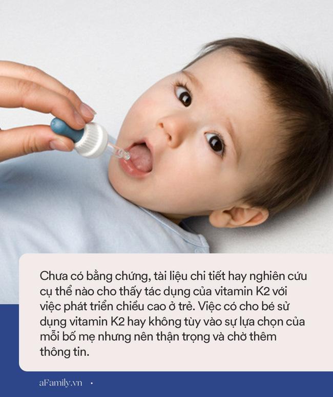 Nhiều mẹ đổ xô mua Vitamin D3 + K2 bổ sung cho con để hỗ trợ tăng chiều cao nhưng đây là ý kiến bất ngờ của bác sĩ Collin-2