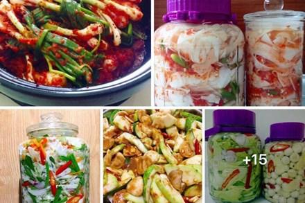 9x Sài Gòn chia sẻ loạt công thức làm các món muối chua ngon đẹp xuất sắc khiến cộng đồng mạng rần rần dậy sóng