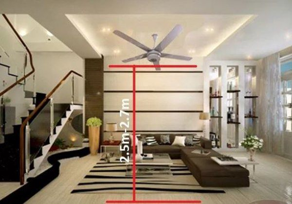 Bạn bè cười nhạo vì lắp quạt trần phòng khách, nhưng khi hiểu ra mới thấy hợp lý vô cùng-3