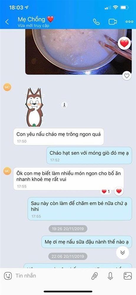 Loạt tin nhắn Âu Hà My từng rất tình thương mến thương với mẹ Trọng Hưng, phản pháo lời cáo buộc từ chị chồng-4