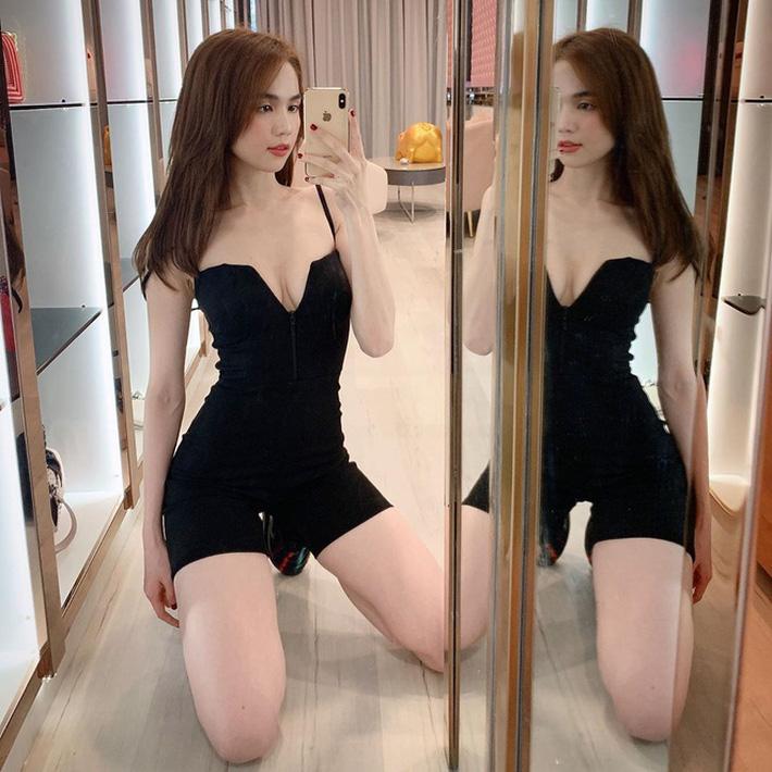Ngọc Trinh diện váy cắt khoét sâu hoắm khiến nhiều người nóng mắt, nhưng ít nhất là không bất công với vòng eo 55 nữa rồi-9