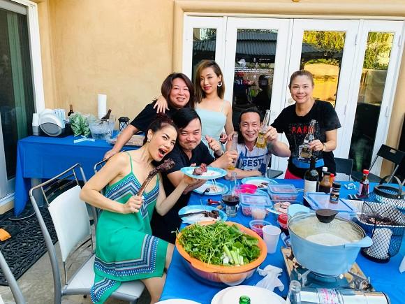 Thanh Thảo và bạn bè đến thăm nhà ca sĩ Minh Tuyết tại Mỹ-6