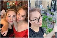 Thanh Thảo và bạn bè đến thăm nhà ca sĩ Minh Tuyết tại Mỹ