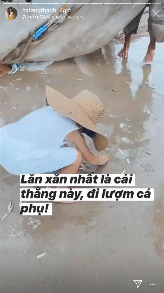 Hành động đặc biệt của cậu cả nhà Hà Tăng với ngư dân khi ra biển khiến ai cũng nể phục cách dạy con của nữ diễn viên-1