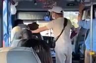 Phẫn nộ clip nam thanh niên tự xưng thanh tra xe buýt có hành vi côn đồ, chửi bới, đe dọa người lớn tuổi: 'Thằng già, tao cắt cổ mày luôn đấy'