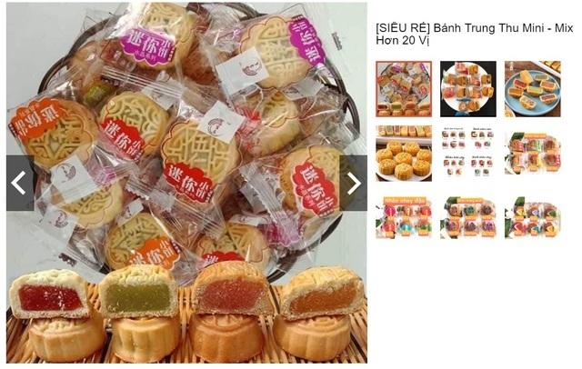 Nhan nhản bánh trung thu giá siêu rẻ, không rõ nguồn gốc trên chợ mạng-2