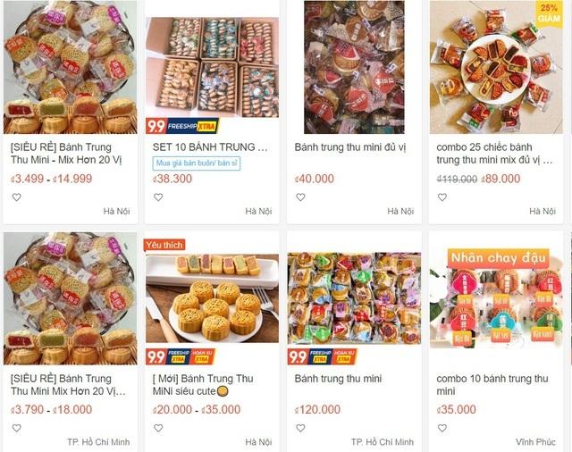 Nhan nhản bánh trung thu giá siêu rẻ, không rõ nguồn gốc trên chợ mạng-3
