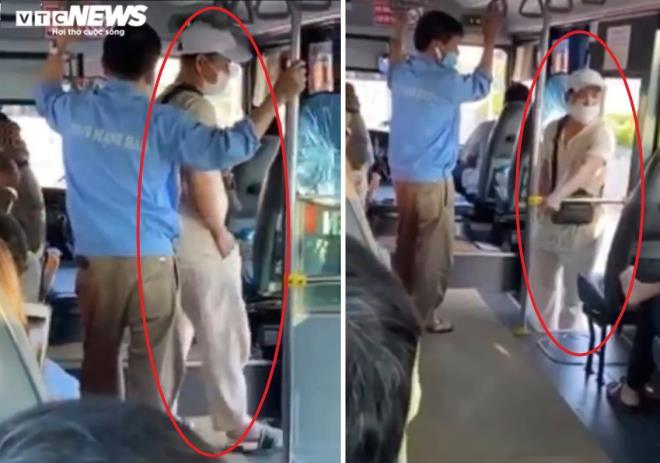 Thanh tra xe buýt chửi, dọa cắt cổ hành khách: Sở GTVT Bắc Ninh chỉ đạo làm rõ-1