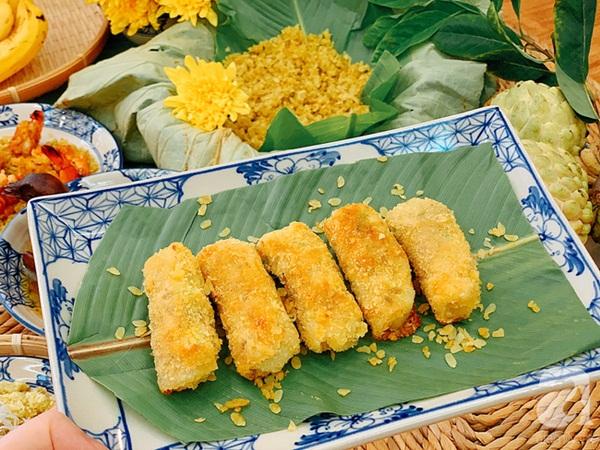 9x Hà Nội chia sẻ mâm cơm cuối tuần ngon đẹp đến ngỡ ngàng, tất cả các món đều được làm từ cốm!-3