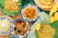9x Hà Nội chia sẻ mâm cơm cuối tuần ngon đẹp đến ngỡ ngàng, tất cả các món đều được làm từ cốm!