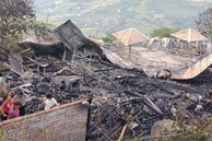 Cháy 5 ngôi nhà trong khu nghỉ dưỡng ở Sa Pa, 1 người tử vong