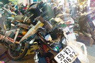 Ôtô công an gây tai nạn liên hoàn vì bị kẹt chân ga