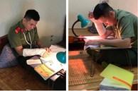 Chiến sĩ công an nghĩa vụ đạt điểm 10 Lịch sử: Bị gãy tay lúc ôn thi nên việc viết lách gặp nhiều khó khăn