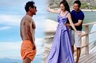 Mặc đồ đôi đi biển với Minh Hà, nhưng CĐM cứ tập trung vào chiếc quần bơi của Lý Hải