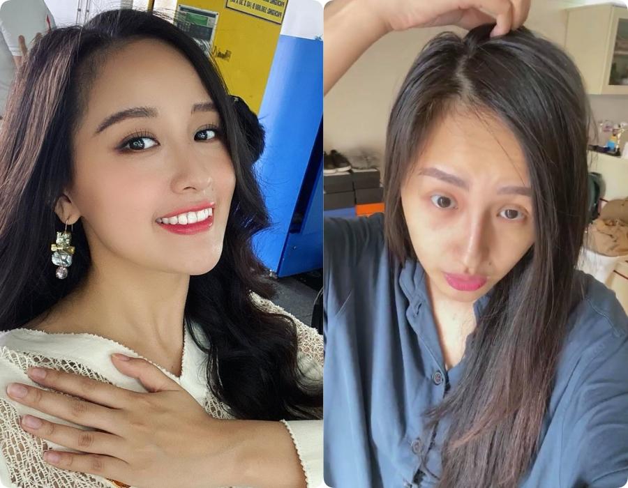 Sao Việt trước và sau khi trang điểm: Người lấm tấm mụn nhọt và quầng thâm, người có làn da mịn mướt-2