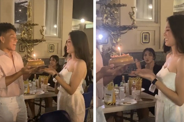 Đoạn clip 11s hé lộ mối quan hệ của Linh Rin và Hà Tăng - 2 nàng dâu nhà tỷ phú Johnathan Hạnh Nguyễn-2