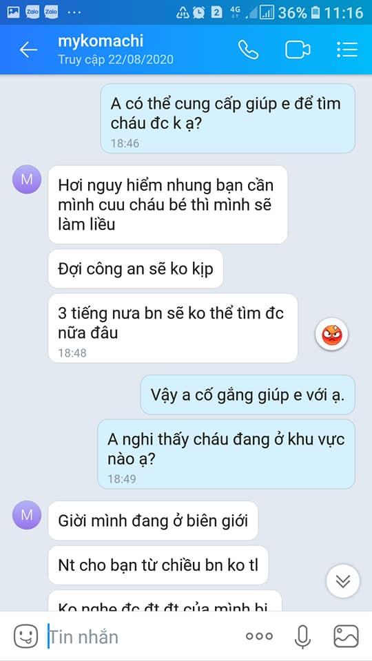 Vụ bé trai mất tích ở Bắc Ninh, chuyện bây giờ mới kể: Phẫn nộ loạt tin nhắn kẻ gian lợi dụng lúc gia đình bối rối để lừa tiền-2