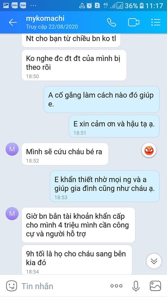 Vụ bé trai mất tích ở Bắc Ninh, chuyện bây giờ mới kể: Phẫn nộ loạt tin nhắn kẻ gian lợi dụng lúc gia đình bối rối để lừa tiền-3