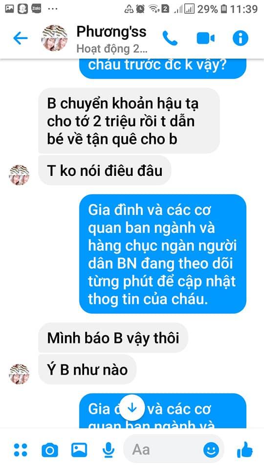 Vụ bé trai mất tích ở Bắc Ninh, chuyện bây giờ mới kể: Phẫn nộ loạt tin nhắn kẻ gian lợi dụng lúc gia đình bối rối để lừa tiền-4