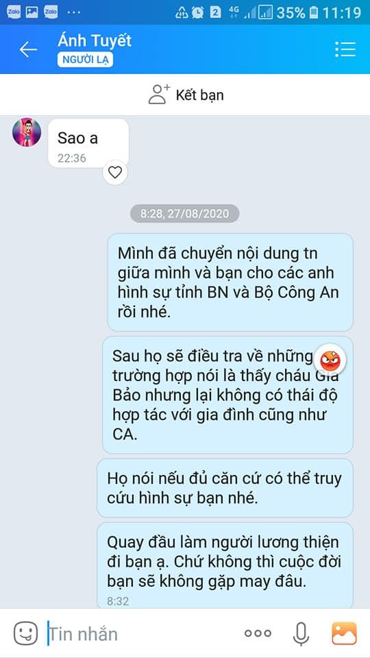 Vụ bé trai mất tích ở Bắc Ninh, chuyện bây giờ mới kể: Phẫn nộ loạt tin nhắn kẻ gian lợi dụng lúc gia đình bối rối để lừa tiền-6