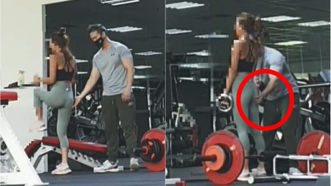 Đi tập gym, cô gái bị huấn luyện viên quấy rối tình dục trắng trợn và đoạn clip khiến dân mạng nổi nóng-1
