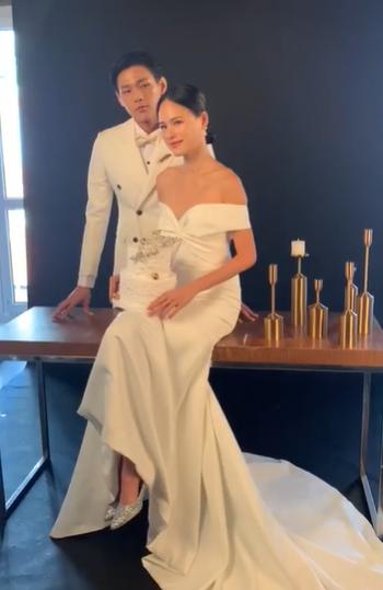 Tuyết Lan công khai gương mặt chú rể, tiết lộ sự thật về bức ảnh cưới đang gây xôn xao-3