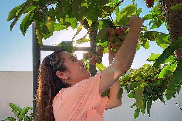 Hoa hậu miền Tây lấy chồng đại gia: Ở biệt thự 1.200m2, quả ăn không hết phải mang cho-6