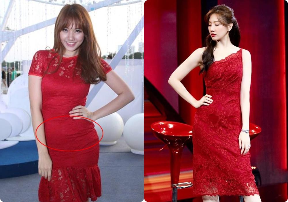 Sau giảm cân, những kiểu đầm từng khiến Hari Won lộ bụng mỡ và bị dìm dáng đến thê thảm nay được cô diện lại chuẩn đét-2