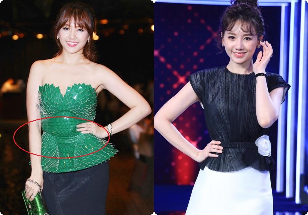 Sau giảm cân, những kiểu đầm từng khiến Hari Won lộ bụng mỡ và bị dìm dáng đến thê thảm nay được cô diện lại chuẩn đét-5