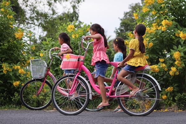 Năm học mới của chị em sinh tư Việt, Nam, Hạnh, Phúc-7