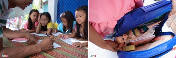 Năm học mới của chị em sinh tư Việt, Nam, Hạnh, Phúc-9