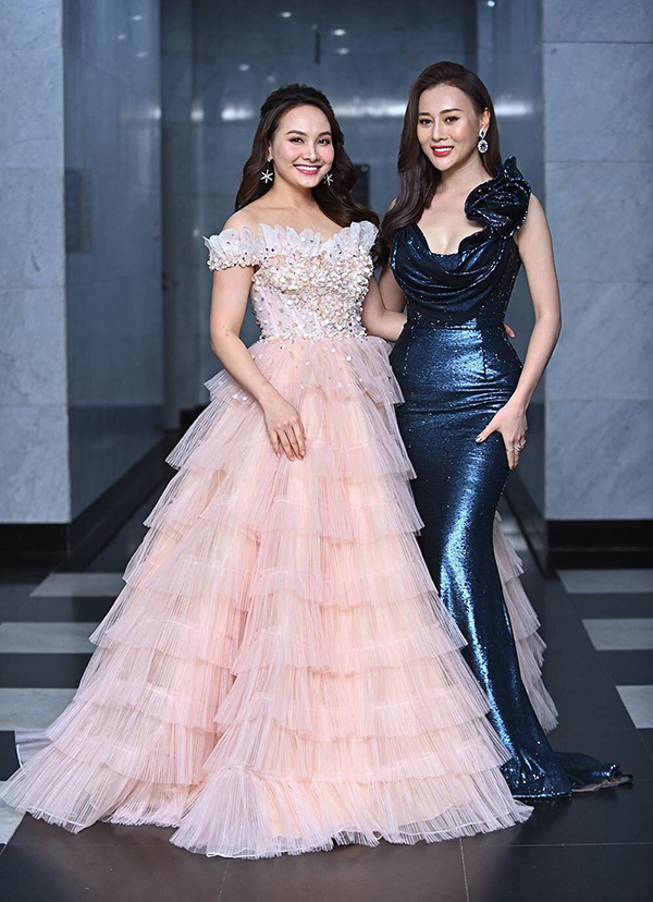 Phục thù lại mùa VTV Awards năm ngoái, năm nay Phương Oanh gây sốt với vòng eo siêu nhỏ, nhưng bộ đầm đen lại có phần hơi già-5