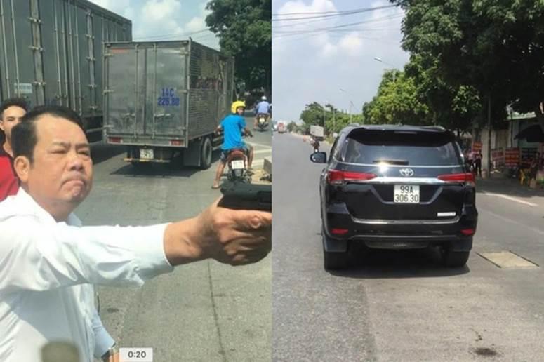 Giám đốc công ty bảo vệ dọa bắn vỡ sọ tài xế: Thu súng và đạn tại nhà riêng-1